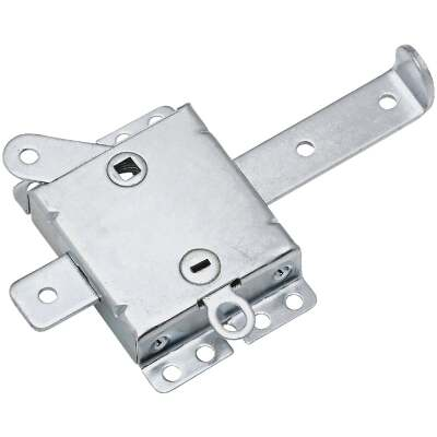 National 7-1/2 In. W. Garage Door Side Lock