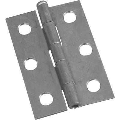 National 2-1/2 In. Zinc Loose-Pin Narrow Hinge (2-Pack)