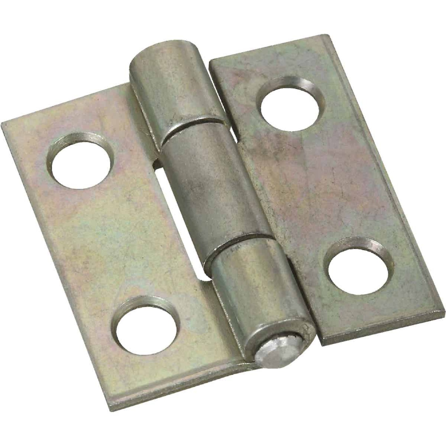 National 1 In. Zinc Tight-Pin Narrow Hinge (2-Pack) Image 1