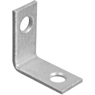 National Catalog V115 1 In. x 1/2 In. Galvanized Steel Corner Brace (4-Count)