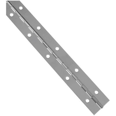 National 1-1/2 In. x 12 In. Stainless Steel Continuous Hinge