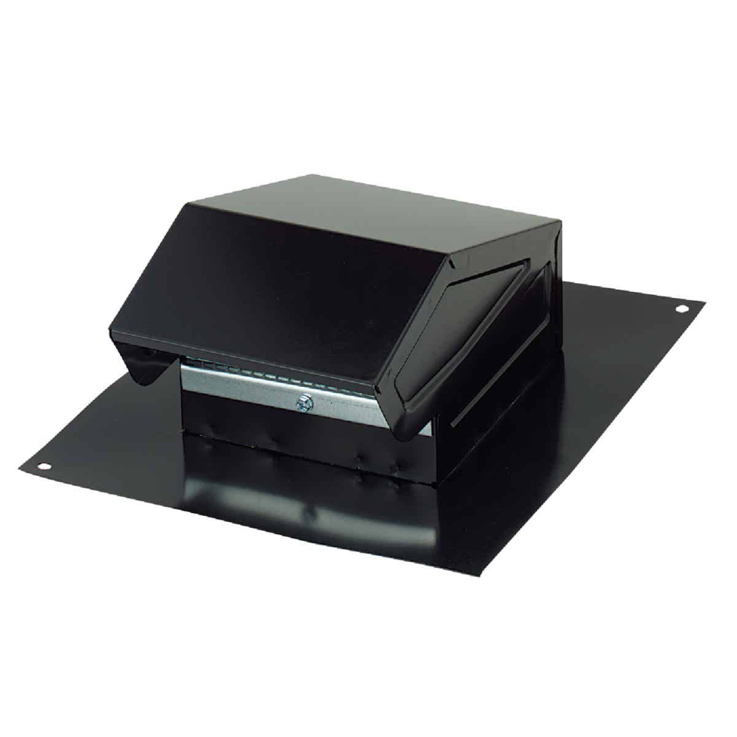 Broan-Nutone 3 In. or 4 In. Black Steel Roof Vent Cap Image 1