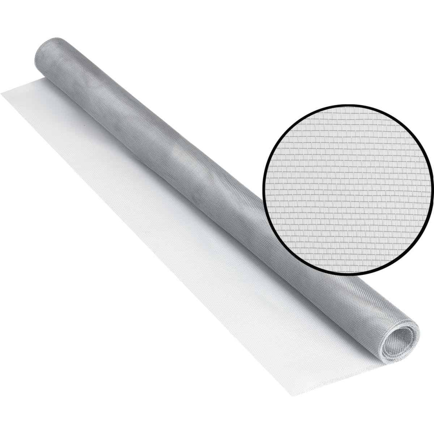 Phifer 30 In. x 84 In. Brite Aluminum Screen Ready Rolls Image 1