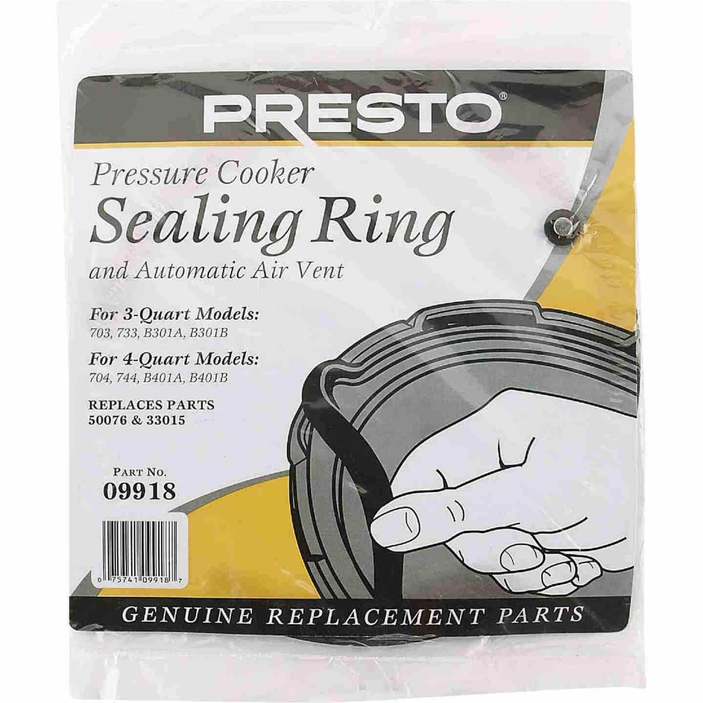 Presto 3-4 Qt. Pressure Cooker or Canner Gasket Image 2