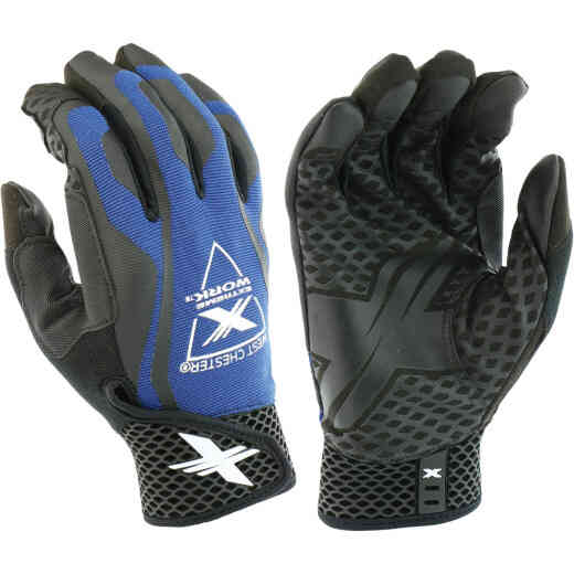 West Chester Protective Gear Extreme Work LocX-On Grip Men's XL Synthetic Leather Work Glove