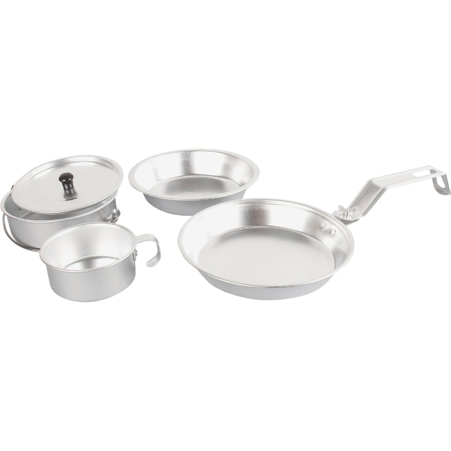 Coleman 5-Piece Aluminum Mess Kit with Cover Image 1